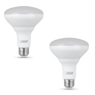 Feit Electric BR30DM/10KLED/2 10.5 Watt BR30 Dimmable LED Reflector Bulbs Equivalent 65 Watts 2 Pack