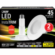 Feit Electric LEDR4/827/MED/2/R Rtf Kit Std Dim 9W Led 2700K