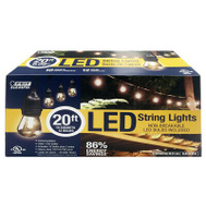 Feit Electric 72122 Stringset Filmt Led 20Ft 10Skt