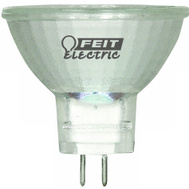 Feit Electric BPQ10MR11 10 Watt Low Volt Halogen Mr-11 Bulb 2 Pin G4 Base