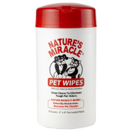 Spectrum 5147 Nature's Miracle 70CT Pet Bath Wipes