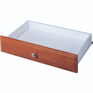 Stow RD2504-C Closet Drawer Cherry Dlx 4In