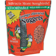C & S CS06103 Suet Nuggets Orange 27 Ounce