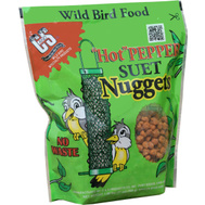 C & S CS06107 Suet Nuggets Hot Pepper 27 Ounce