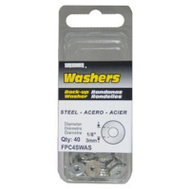 FPC FPC4SWAS Surebonder Rivet Washer 1/8In Steel Pk40 40 Pack