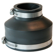 Fernco P1056-415 4 By 1-1/2 Plastic Coupling