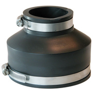 Fernco P1056-42 4 By 2 Plastic Coupling