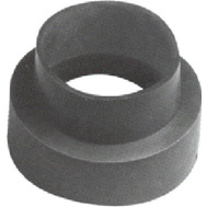Fernco PDSC-43 Connector Downspout 4X3in