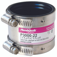 Fernco P3000-22 2 Inch Coupling