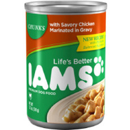 Iams 02519 12.3 Ounce Chicken Dog Food