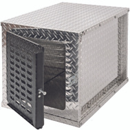 DeeZee DZ91782 Truck Single Dog Box Bright Aluminum