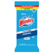 SC Johnson 00296 Wipes Glass Windex 38 Count
