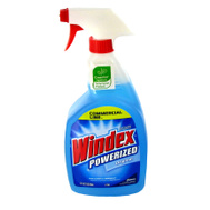 SC Johnson 08521 Windex 32 Ounce Powerized Glass And Window Cleaner