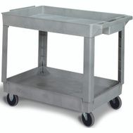 Continental Commercial N5805GY Cart Utility Hvydty Gray 400 Pound