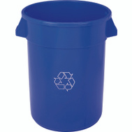 Continental Commercial 3200-1 Huskee 32 Gallon Blue Recycle Container