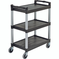 Continental Commercial 5810BK Cart Utility Black 400 Pound