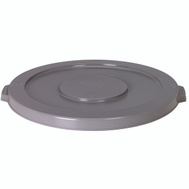 Continental Commercial 1002GY Huskee Lid Round Grey For 1001