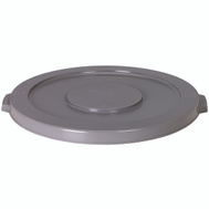 Continental Commercial 3201GY Huskee Lid Round Grey For 3200