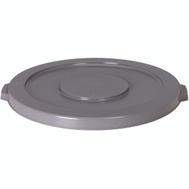 Continental Commercial 5501GY Huskee Lid Round Grey For 5500