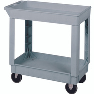 Continental Commercial N5800GY Cart Utility Sm Gray
