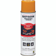 Rust-Oleum 203024 Industrial Choice Caution Yellow Inverted Precision Line Marking 17 Ounce