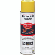 Rust-Oleum 203025 Industrial Choice Hi Vis Yellow Inverted Precision Line Marking 17 Ounce