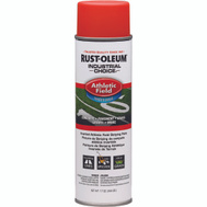 Rust-Oleum 206044 Industrial Choice Athletic Field Inverted Line Striping Orange 17 Ounce