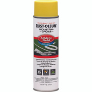 Rust-Oleum 206045 Industrial Choice Athletic Field Inverted Line Striping Yellow 17 Ounce