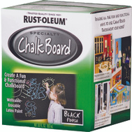 Rust-Oleum 206540 Chalkboard Chalkboard Brush-On Black Quart