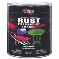 Premium RP3005 Premium Rust Preventive Bright Red Indoor Outdoor Enamel Quart Oil Based