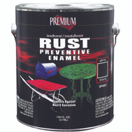 Premium RP4001 Premium Rust Preventive Gloss Black Indoor Outdoor Enamel Gallon Oil Based