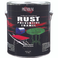 Premium RP4003 Premium Rust Preventive Flat Black Indoor Outdoor Enamel Gallon Oil Based
