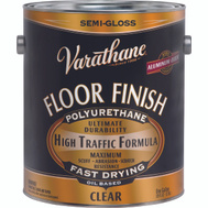 Varathane 214551 Clear Semi Gloss Premium VOC Floor Finish Gallon Oil Based