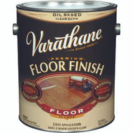 Varathane 214552 Clear Satin Premium VOC Floor Finish Gallon Oil Based