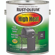 Rust-Oleum 237543 Specialty Black Satin High Heat Brush On VOC Gallon