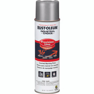Rust-Oleum 239007 Industrial Choice Silver Inverted Precision Line Marking 17 Ounce
