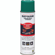 Rust-Oleum 1634838 Industrial Choice Safety Green Inverted Precision Line Marking 17 Ounce