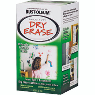Rust-Oleum 241140 Specialty Dry Erase White 27 Ounce Kit