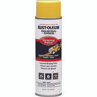 Rust-Oleum 1648838 Industrial Choice Yellow Inverted Striping 18 Ounce