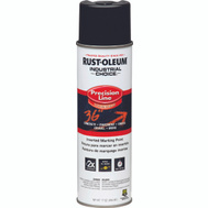 Rust-Oleum 1675838 Industrial Choice Black Inverted Precision Line Marking Paint