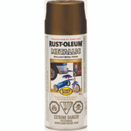 Rust-Oleum 242690 Stops Rust Paint Spray Met Gold Rush 312G