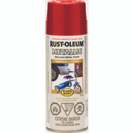 Rust-Oleum 242694 Stops Rust Paint Spray Met Apple Red 312G