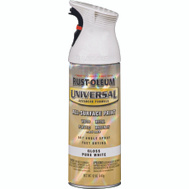 Rust-Oleum 245199 Universal White Gloss Spray Paint