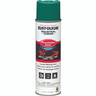 Rust-Oleum 1834838 Industrial Choice Safety Green Water Based Precision Line Marking Paint