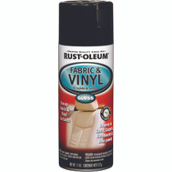 Rust-Oleum 248918 Auto Coatings Gloss Black Fabric & Vinyl Spray
