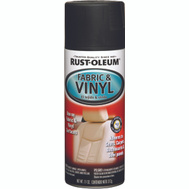 Rust-Oleum 248919 Auto Coatings Flat Black Fabric & Vinyl Spray