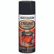Rust-Oleum 248932 Auto Coatings Gloss Black Engine Enamel Spray