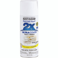 Rust-Oleum 249060 Painters Touch 2X Ultra Cover Paint + Primer White Semi-Gloss Spray