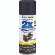 Rust-Oleum 249061 Painters Touch 2X Black Semi Gloss Ultra Cover Spray