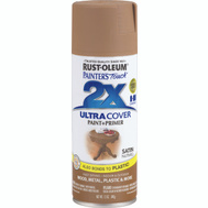 Rust-Oleum 249070 Painters Touch 2X Ultra Cover Paint + Primer Nutmeg Satin Spray